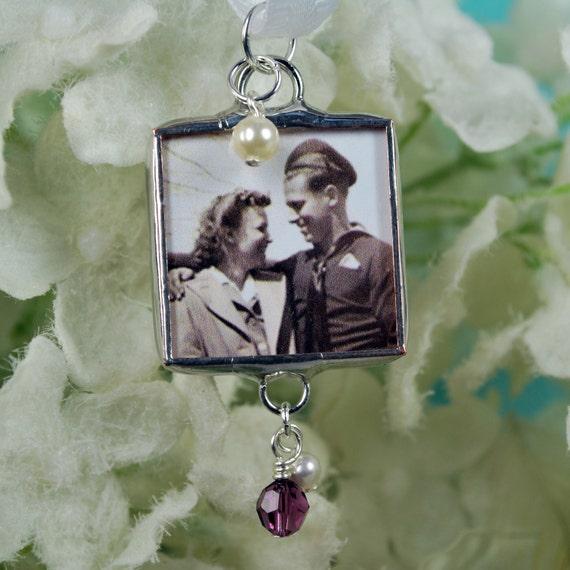 Custom Bridal Bouquet Pendant Wedding Bouquet Personalized Bridal Accessories