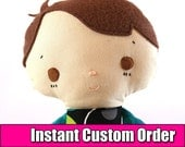 Instant Custom Order - Boy Doll - Made to Order