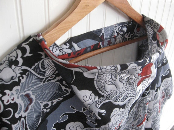 CLEARANCE SALE 50% OFF Nursing Cover - Dragon Tattoo - Ready to Ship