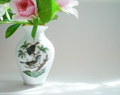 Miniature Vase, Herend China, Vintage Collectible Stocking Stuffer, Holiday Gift