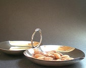 Silver Serving Dish Vintage Candy Bowl, Nut Bowl, Holiday Entertaining