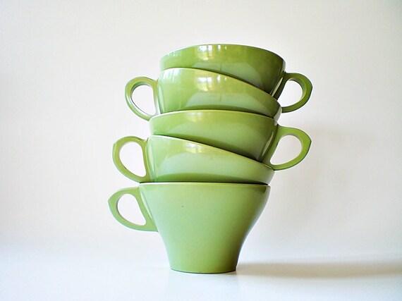 Melamine Cups & Bowls / Vintage Mid Century Texas Ware