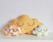 Cloud cushion Honey