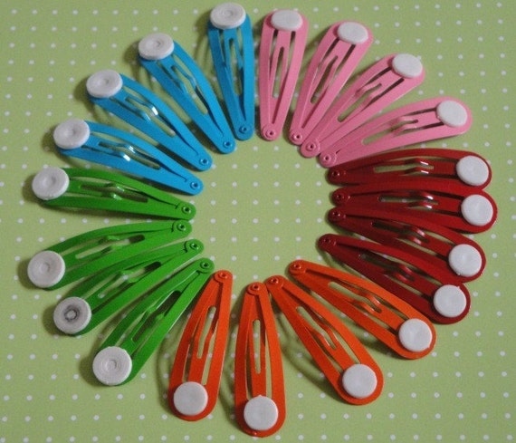 Snap Hair Clip Sampler(20pc)