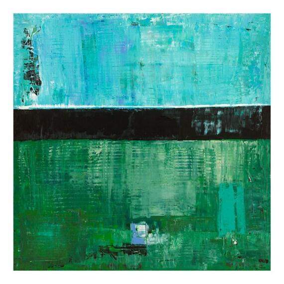 Sky Blue Sky Wilco Abstract Landscape Art Print Giclee