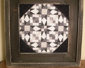 Framed art quilt | Etsy : framed quilt art - Adamdwight.com