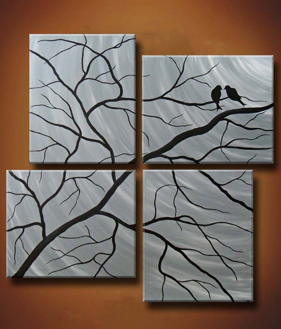 half off this week only multiple canvas painting of birds
