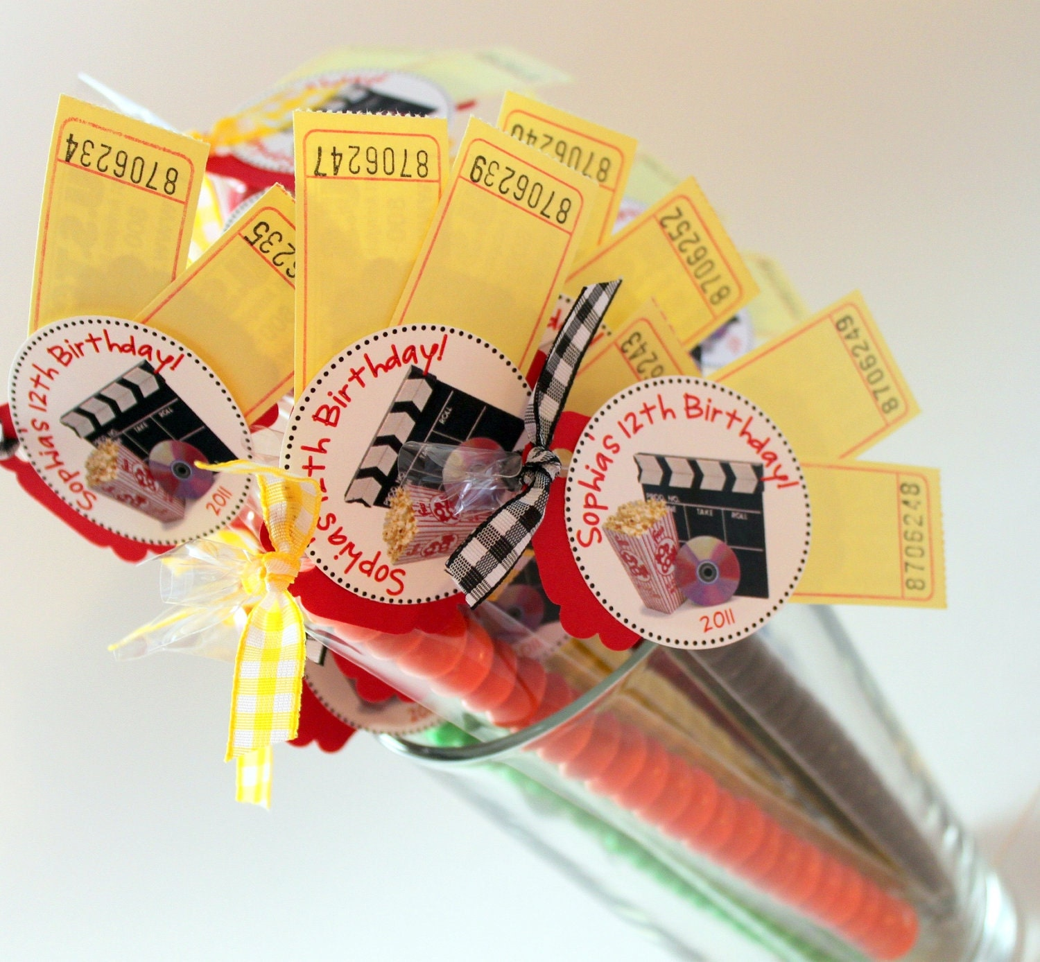 Movie Night party favors 20 kids birthday party