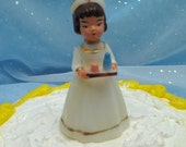 Vintage Cake Topper Nurse Nursing School Graduation or Retiree