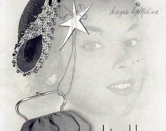 Vintage Crochet Pattern Book Hats and Bags Purses Hiawatha 1953 pdf