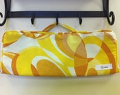 Chicopee Citrus print by Swavelle/Mill Creek Flat iron/Curling iron case.