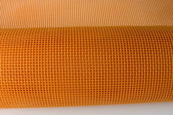 Gold Vinyl Mesh Polyester Mesh Pet Screen Fabric 36