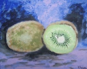 Kiwis Original Acrylic Painting 8x10