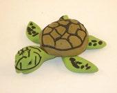 Pete the Sea  Turtle - Sculpture