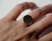 Reserved - 1 Sterling silver adjustablle ring blank, ring base