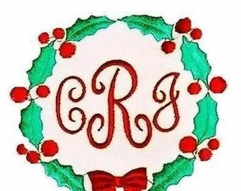 Christmas Wreath Diaper Covers