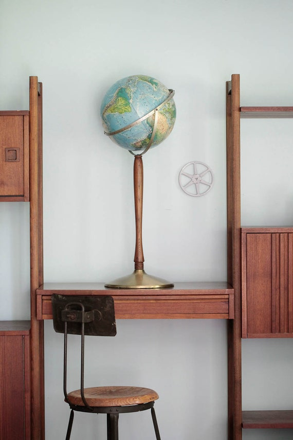 Late 60's Rand McNally Floor Globe