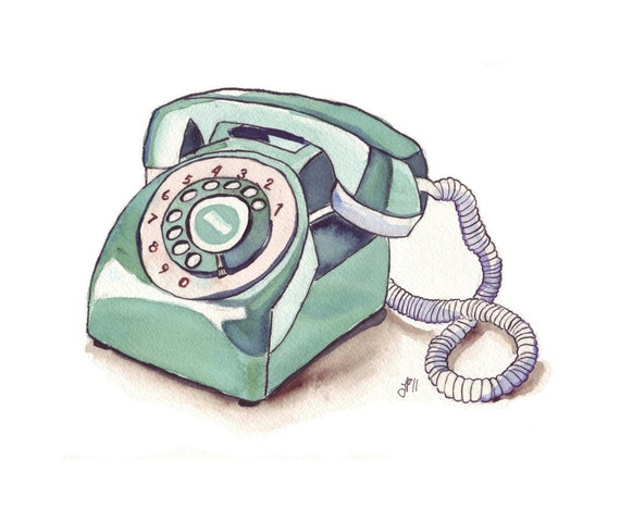vintage telephone clipart - photo #19