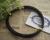 Thickness 18 gauge (1 mm) - 16 ft - Artistic Aluminum Craft Wire - Black