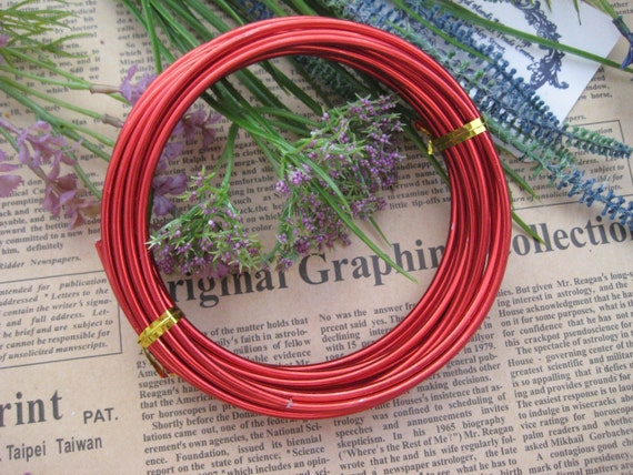 Thickness 8 gauge (3mm) - 16 feet - Artistic Aluminum Craft Wire ...