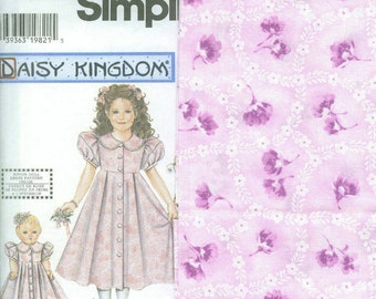 Daisy Kingdom Doll Dress Kit-Pattern 7550