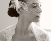 Bandeau Birdcage Veil - The Penelope Veil