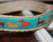 SALE - Hemp Dog Collar - Rowdy