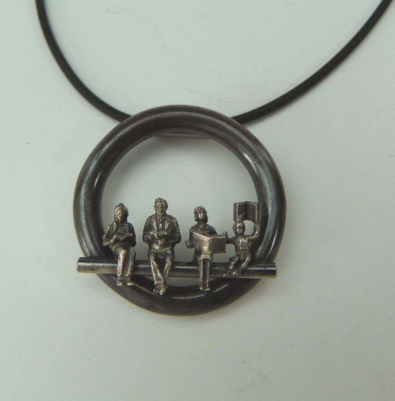 Book Group pendant