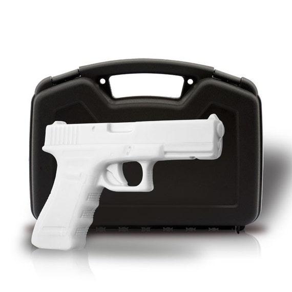 Soap Gun 'Innocent Spy' Full Size Soap Handgun with Case