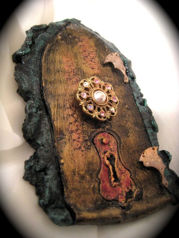 Faerie dream door by award winning fae factory steampunk for The faerie door