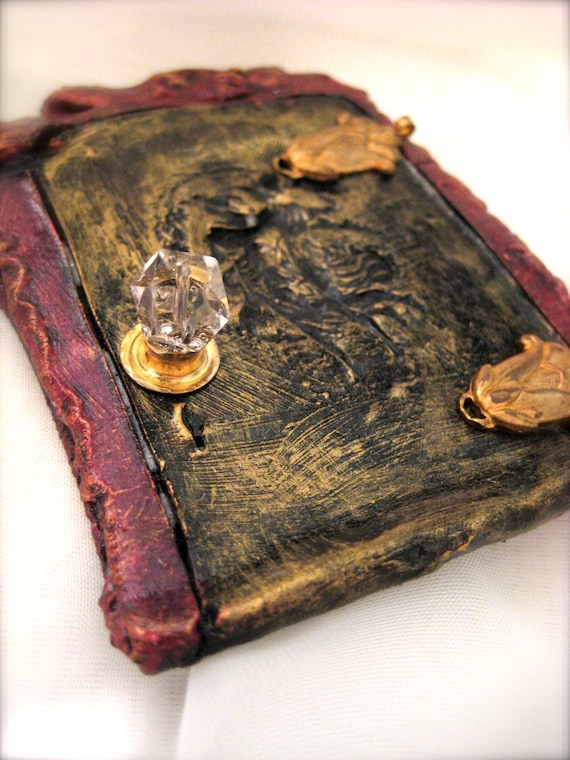 Fairy Door (Faerie Dream Door) for house, furniture, room etc - by Award - Winning Fae Factory Steampunk Chic, Eco Artist, Dr Franky Dolan