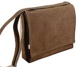 """13"""" Laptop Messenger Bag - Brown Messenger Shoulder Bag"""