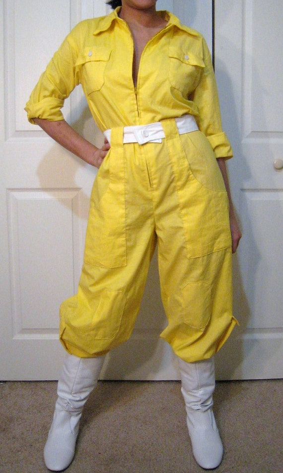 Collection Yellow Jumpsuit Pictures - Reikian