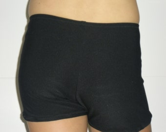 Black spandex shorts in any girls or adult size