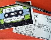 Mixtape Postcards (Set of Six)