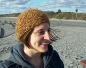 """Hat - """"Spun Gold"""" Knit Hat"""