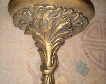 Gold French Renaissance Gilded Wall Shelf PARIS CHIC