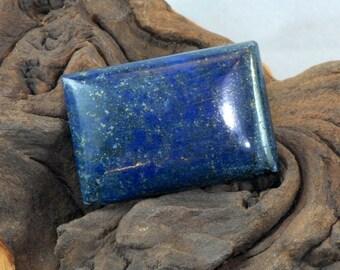 Lapis Lazuli rectangular cabochon natural gemstone 56 cts