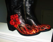 Boots on Fire