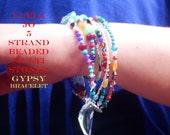 Luela Jo Multi strand plus sized Bracelet