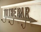 To The Bar Shelf Coat Rack