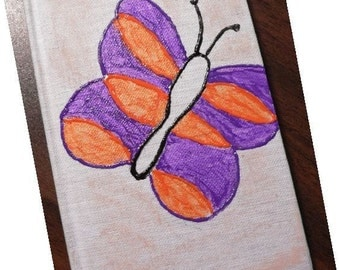 Pretty Butterfly - Small Journal
