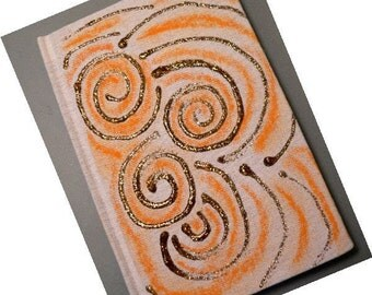 Swirling Thoughts Hand Painted Journal