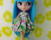 Neo Kenner Blythe doll Outfit Clothing Cloth Fashion Handmade Basaak Set B206