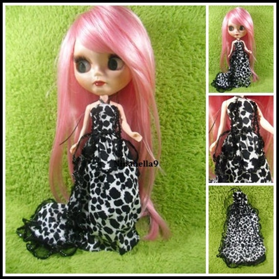 Neo Kenner Blythe doll Outfit Clothing Cloth Fashion Handmade Basaak Set 1 pcs Dress B198