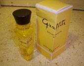 Rare Vintage GRAFFITI by CAPUCCI 4 oz parfum capucci eau de toilette - discontinued 1963