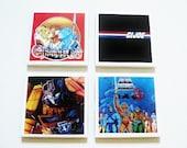 80s Cartoons Coasters
