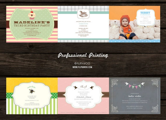 Professional SINGLE-SIDED 5 x 7 or 4 x 9 Prints (x25) - Provided by FLIPAWOO