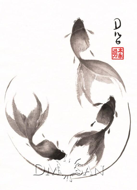 Follow the Leader - Goldfish (Print)