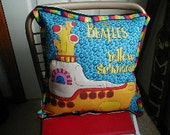 TRIBUTE To The  FAB 4  The Yellow Submarine  PILLOW